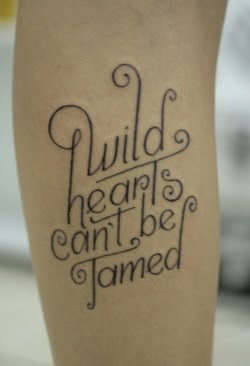 Tatuajes de frases en inglés