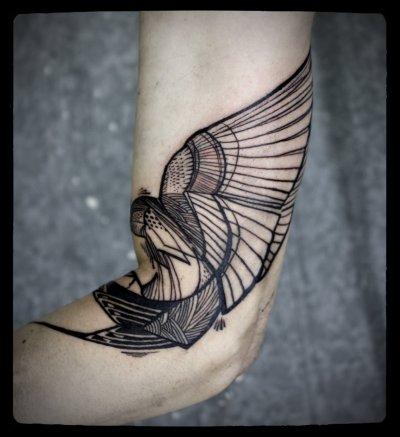 David Hale Tatuajes