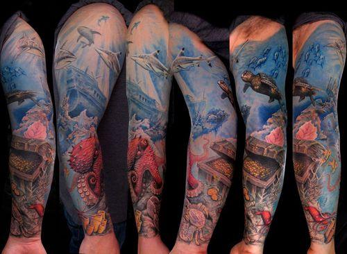 Tatuaje del mar