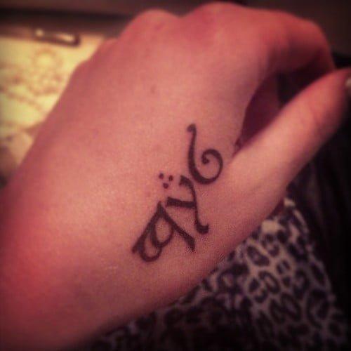 Tattoo in elvish - Tatuajesxd