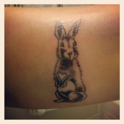 Bunny tattoo