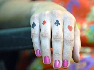 Gambling tattoos