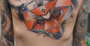 Foz tatto by Mark Halbstark