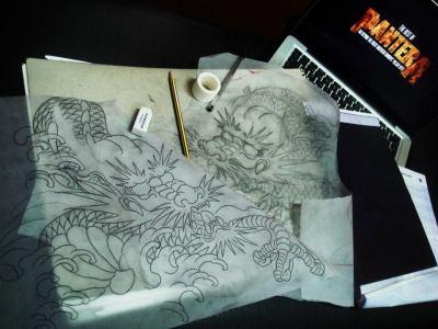 Diseñando tatuajes
