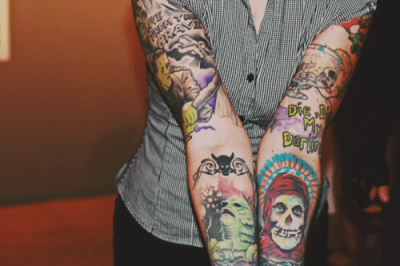 tatuajes horror punk