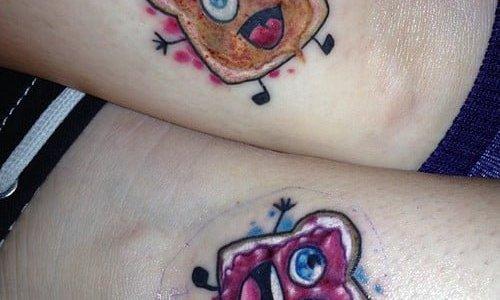 Peanut Jelly Tattoo