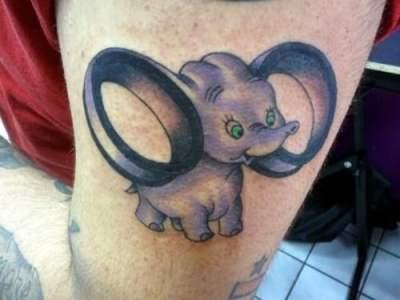 Tatuaje de Dumbo