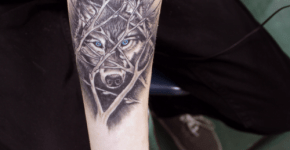 best wolf tattoos