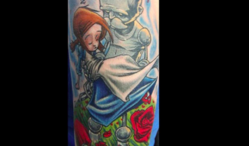 Wizard of Oz tattoo