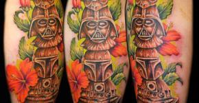 Star Wars totem tattoo