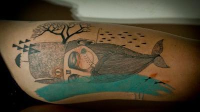 Tatuajes de ballenas interesantes