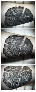 tree ring tattoo
