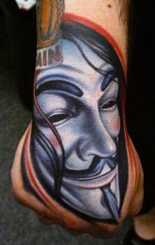 V for Vendetta tattoo