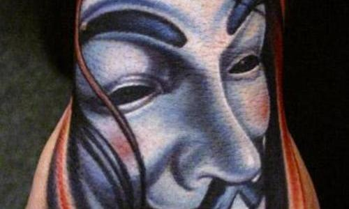 V for Vendetta tattoo