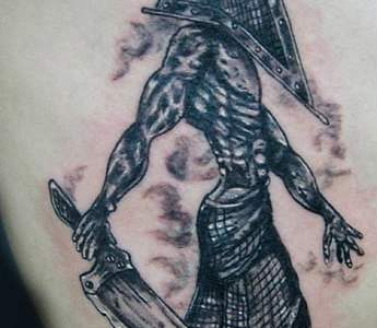pyramid head tattoo (silent Hill)