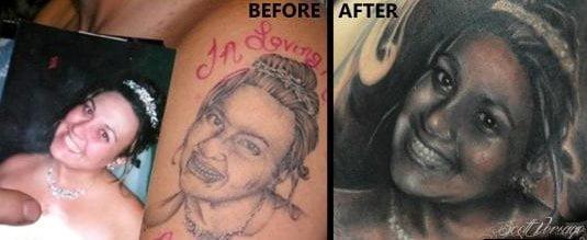 El mejor arreglo de tatuaje