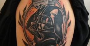 Tatuaje de Star Wars en Hombro