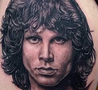 Jim Morrison's tattoo