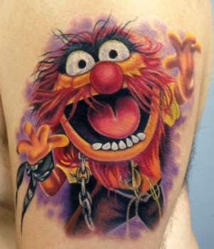 Muppets tattoo