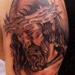Tatuaje de Jesucristo
