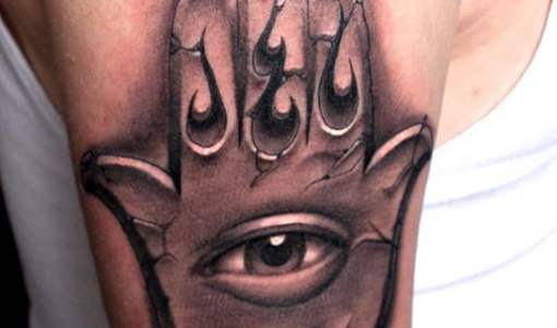 Hamsa Tattoo by John Ragoe