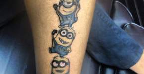 Despicabel me tattoo