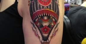 Globo aerostático classic tattoo