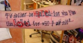 MCR Tatuaje en brazo