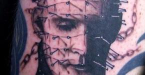 Tatuaje de Pinhead (Hellraiser)
