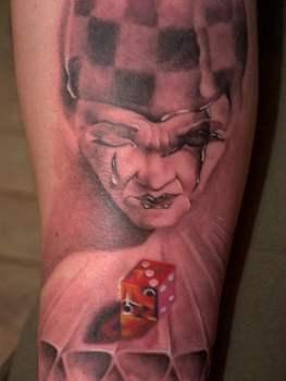 Tatuaje Arlequín