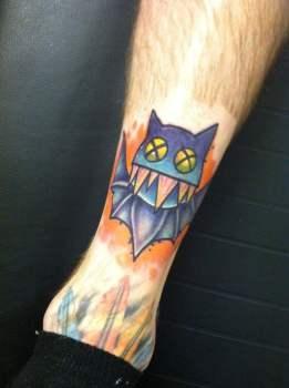Tatuaje de murciélago