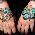 Tatuajes mariposas