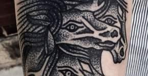 Tatuaje caballos