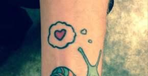 Tatuaje caracol