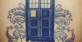 Tatuaje Doctor Who