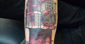 Tatuaje casa