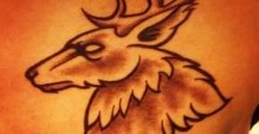 Tatuaje ciervo