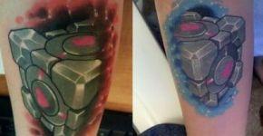 Tatuaje cubo