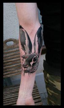 Tatuaje liebre