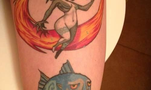 Tatuaje personajes Zelda