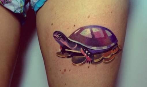 Tatuaje tortuga