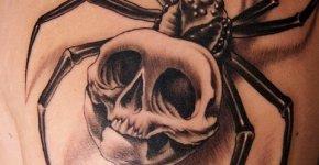 Tatuaje araña