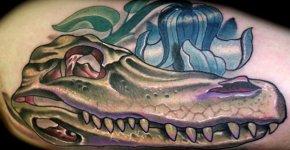 Tatuaje cocodrilo