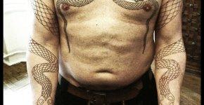 Tatuaje serpientes