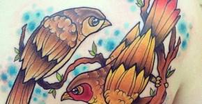 Tatuajes pájaros