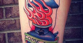 Tatuaje linterna