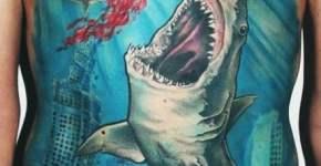 Tatuaje tiburones