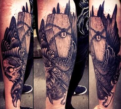 Tatuaje ataud