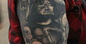 Tatuaje Dark Vader