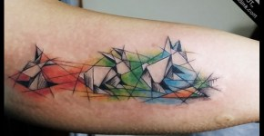 Tatuaje animales papel